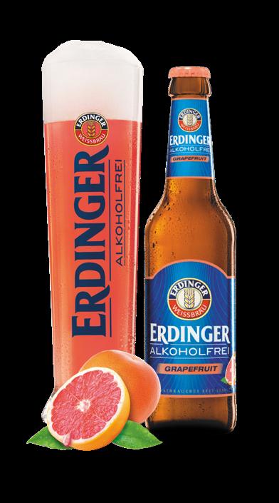 ERDINGER Alkoholfrei Grapefruit