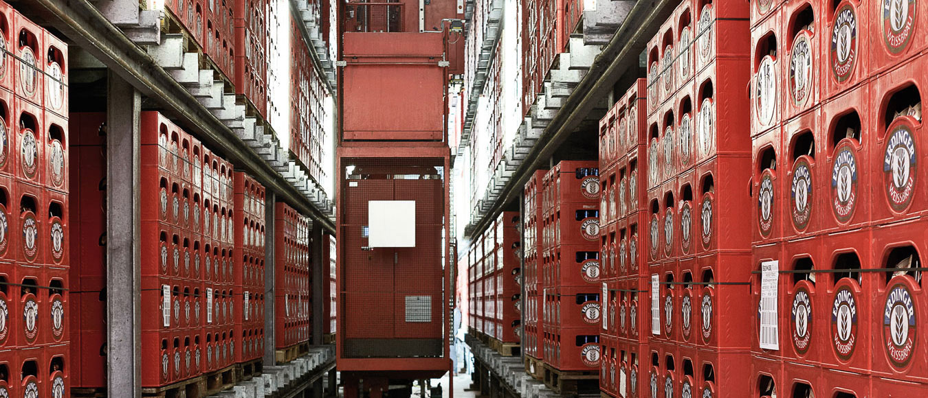 High-bay warehouse