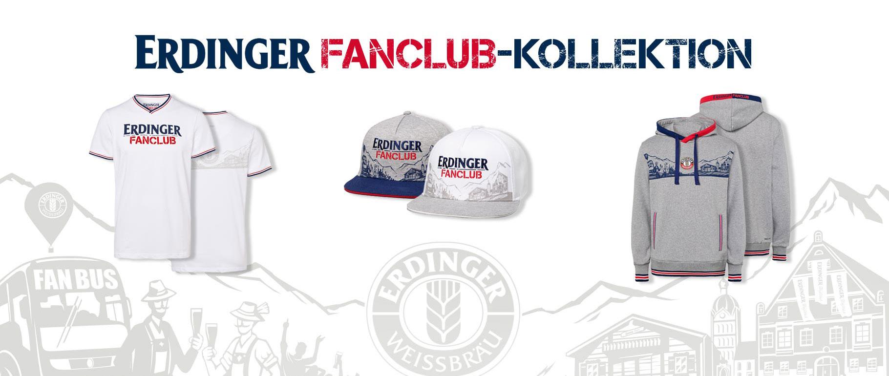 Die ERDINGER Fanclub-Kollektion