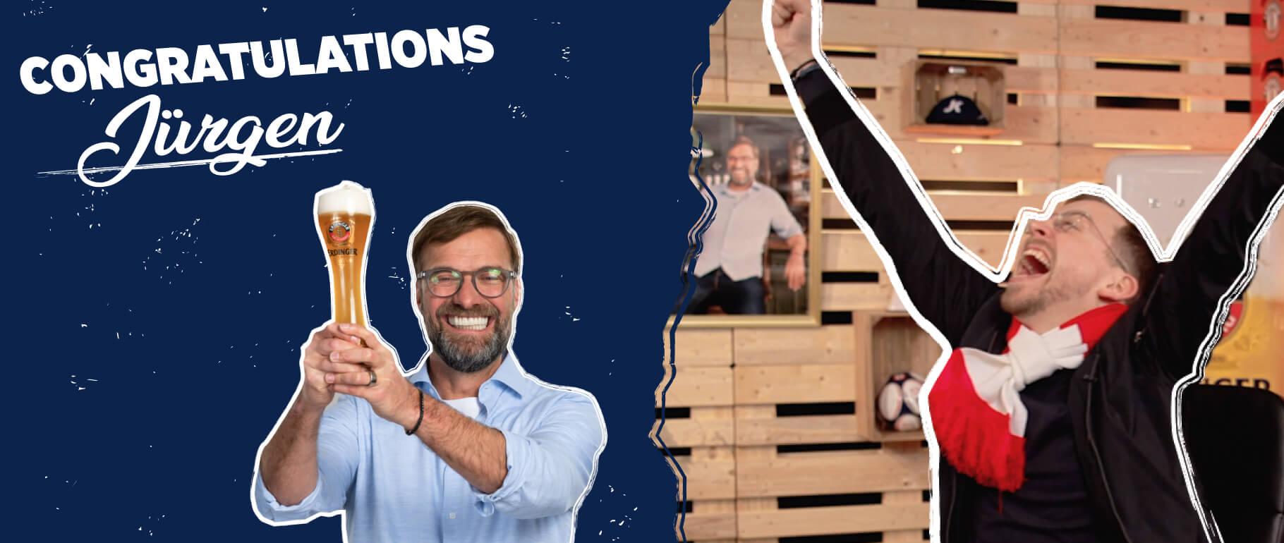 Congratulations Jürgen