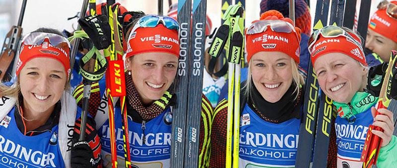 Biathlon WM Hochfilzen