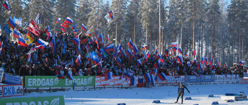 Biathlon Weltcup - Kontiolathi