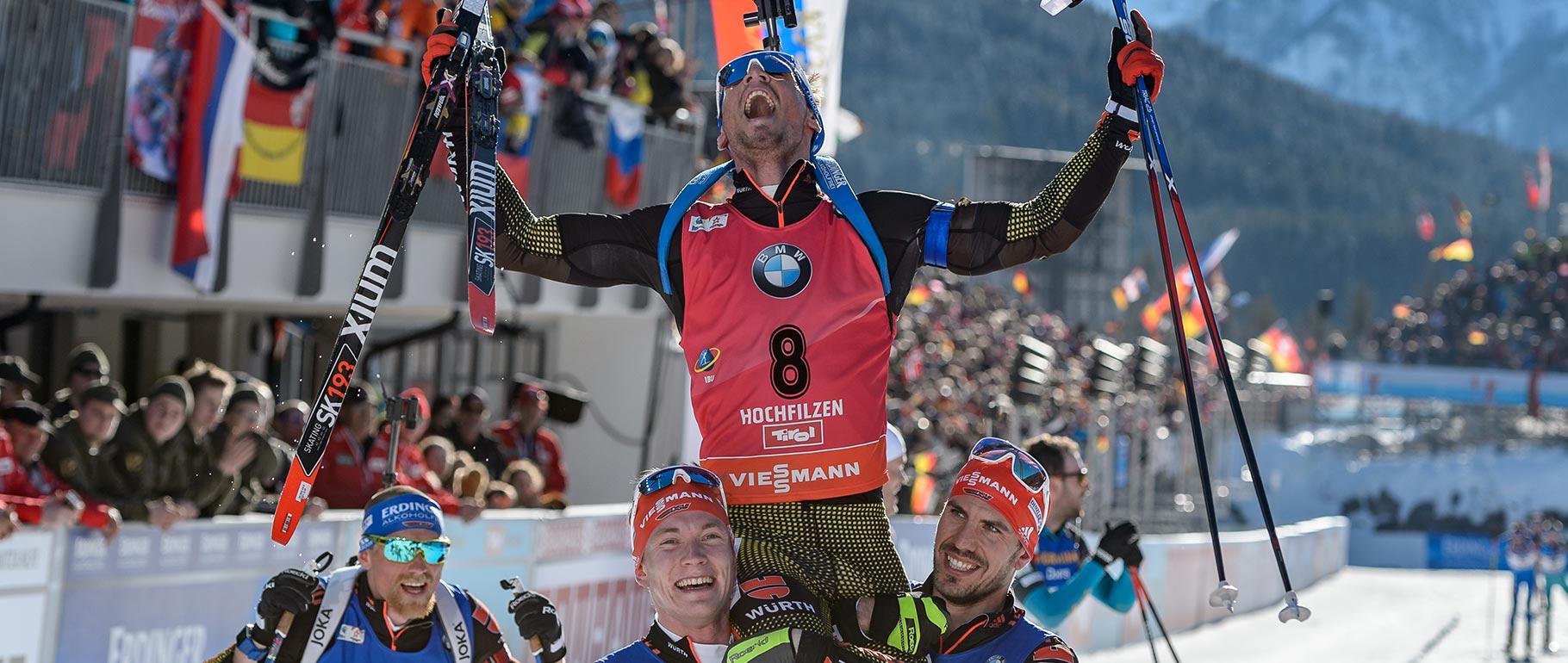 ERDINGER Alkoholfrei und Biathlon