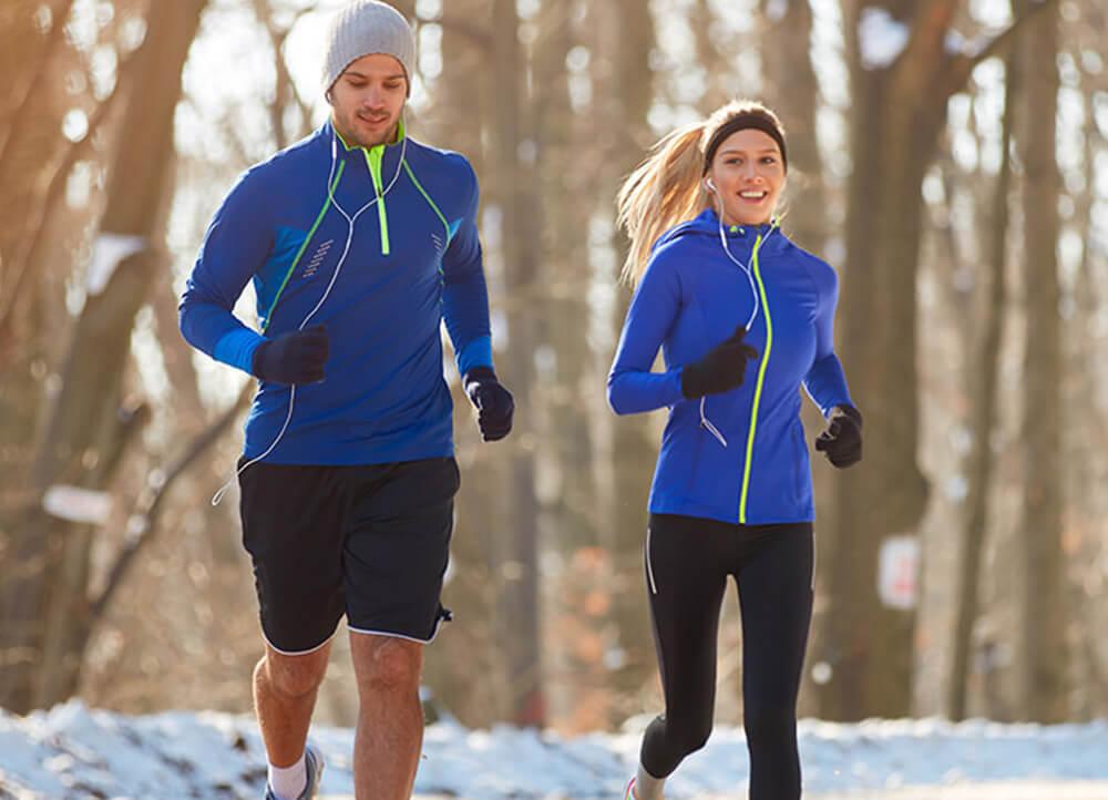 Joggen im Winter? Auf jeden Fall!