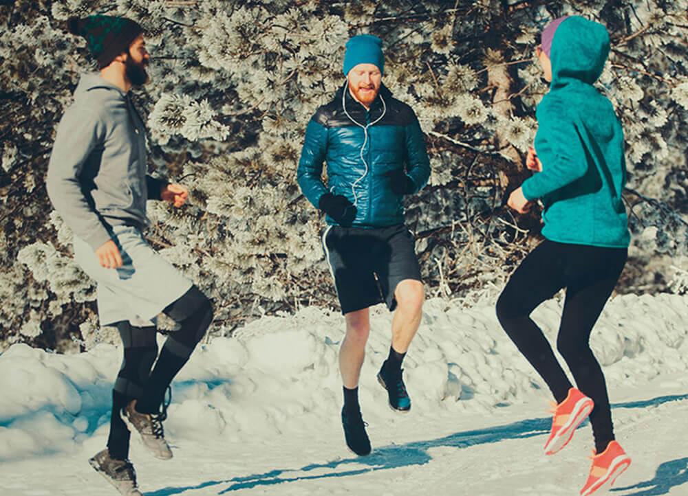Warum Outdoor Training gerade im Winter rockt!