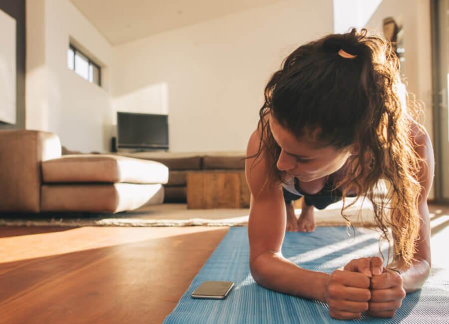 Jetzt fit zu Hause bleiben – organisiere deinen (sportlichen) Alltag