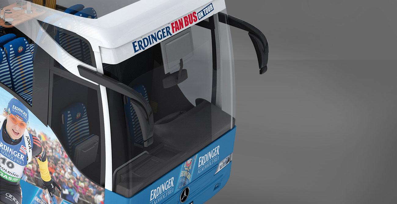 ERDINGER Fanbus Busfahrer