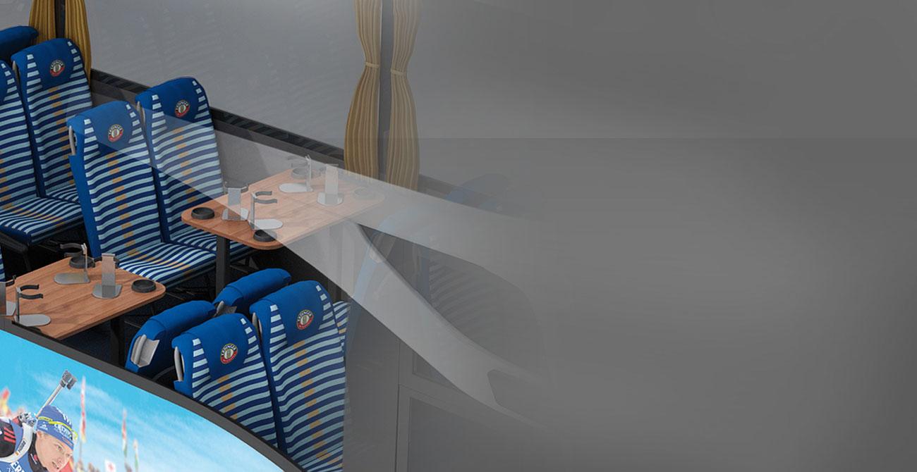 ERDINGER Fanbus 3 x Schafkopftisch