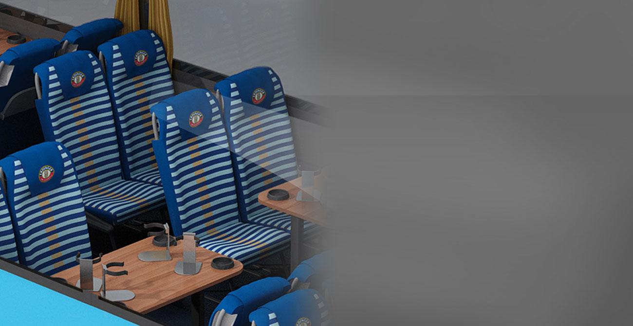 ERDINGER Fanbus Sitze