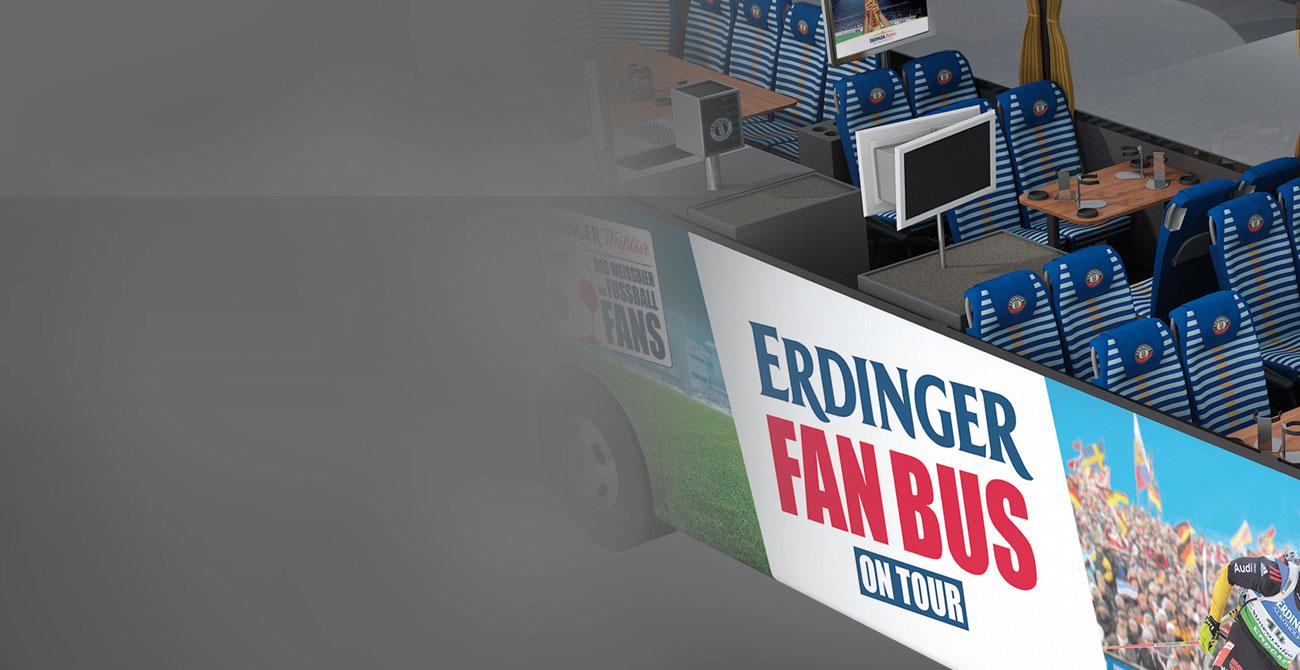 ERDINGER Fanbus Außenzapfanlage