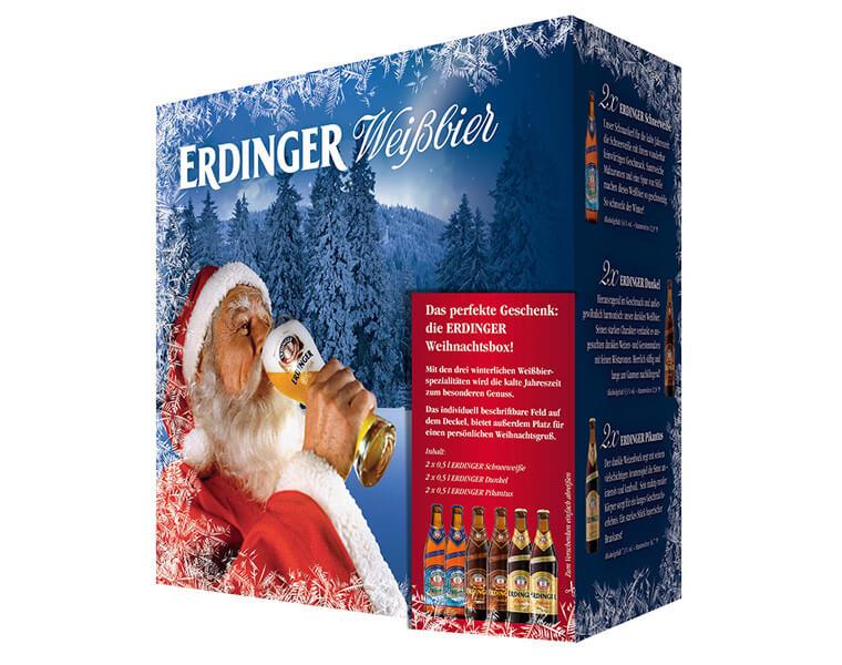 Die ERDINGER Weihnachtsbox