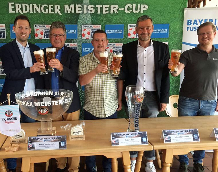 Gruppenauslosung ERDINGER Meister-Cup