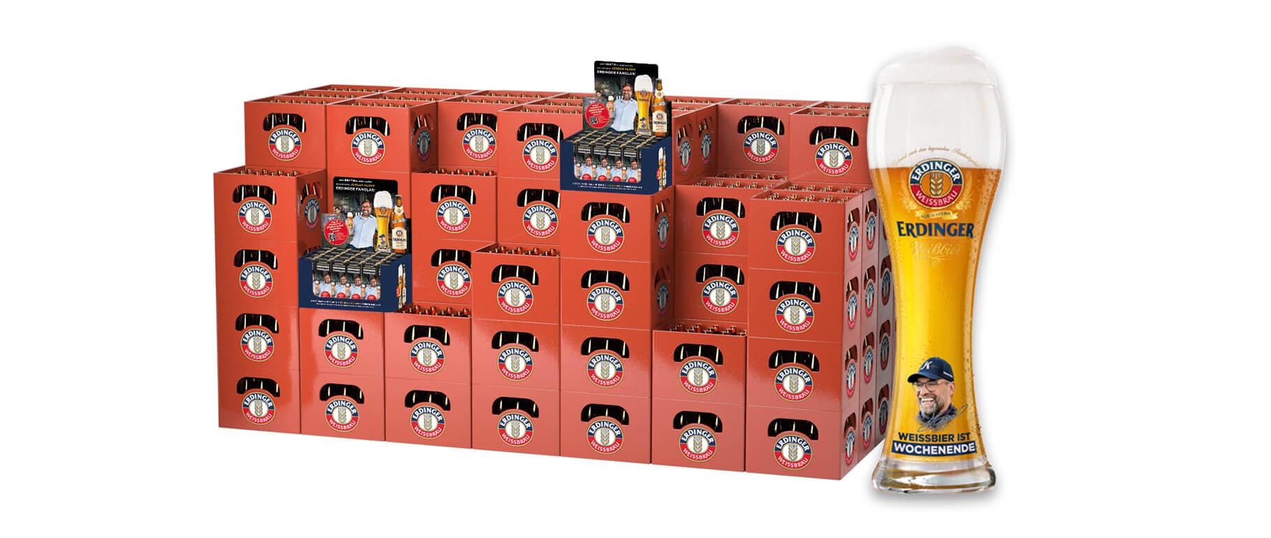 Neue Handelsaktion von ERDINGER Weißbräu