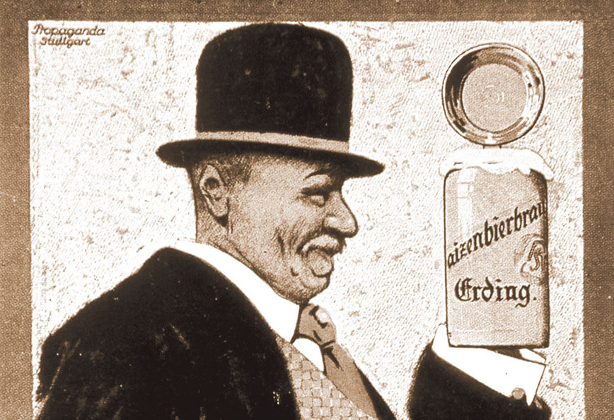 Werbeplakat um 1925