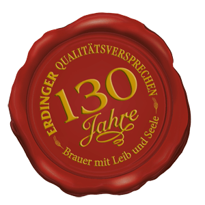 130 years of ERDINGER Weissbräu
