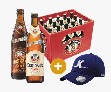 "ERDINGER ""Kloppo"" Fancap - Limited Edition Set"