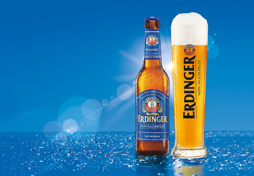 Repositioning of ERDINGER non-Alcoholic