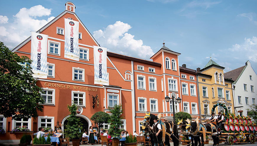 Wiedereröffnung ERDINGER Weissbräuhof